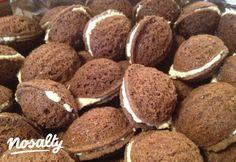 Mandula süti   Nosalty Xmas Desserts, No Bake Desserts, Dessert Recipes, Hungarian Desserts, Hungarian Recipes, Sweet Recipes, Dog Food Recipes, Cooking Recipes, Sweet Cookies