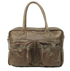 Burkely Westernbag Mud. Voor nog geen €100,00 is deze tas voor jou. www.tassen4jou.nl