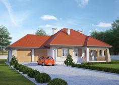 LK&447 parterowy dom jednorodzinny projektu pracowni LK&Projekt