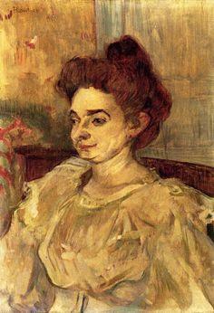 Mademoiselle Beatrice Tapie de Celeyran - Henri de Toulouse-Lautrec