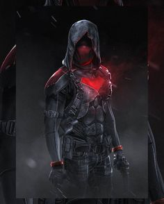 """"""" """" Red Hood by Bosslogic """" Oh hell yeah! Urban warfare outfit, this is what I expect the Red Hood to wear as a uniform. Also I hope he has the taser in his chest's bat symbol. Heros Comics, Dc Heroes, Deadpool Comics, Nightwing, Batgirl, Batwoman, Red Hood Wallpaper, Hood Wallpapers, Red Hood Jason Todd"""