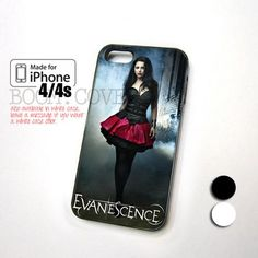 Amy Lee Evanescence for iPhone 4,4S,5 and Samsung Galaxy S3,S4
