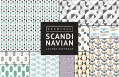 Medialoot - Seamless Scandinavian Vector Patterns