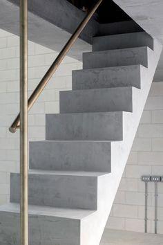 Juergen Teller Studio in London by 6a architects.