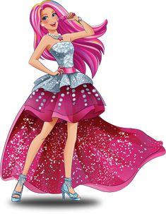 Barbie campamento rock