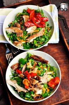 Quick Cheap Tasty : Sweet salad with pheasant