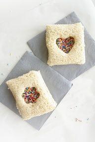 fairy bread for little girl tea party #food