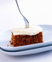 Dessert: Carrot Cake  A Sweet Diabetic Recipe  Common diabetes misperception:  you can never have cake or cookies or anything sweet ever again.  Don't you get tired of hearing that from other people and then correcting them?  Make this carrot cake the next time you have guests, and you won't hear that misperception from them.