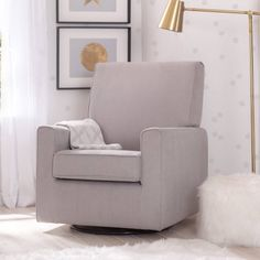 Delta Children Ava Nursery Glider Swivel Rocker Chair, Dove Grey    Walmart.com