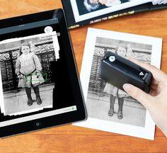 El escáner portátil Dacuda PocketScan se basa en la tecnología WiFi. Escanea documentos e imágenes transfiriendolas de inmediato a tu tableta o móvil.