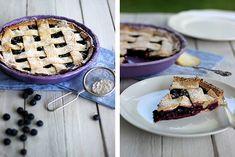 Blåbärspaj I Schwedische  Blaubeertarte I Swedish Blueberry Pie *via Holunderweg18