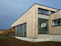 Lusta - Rural Design Architects - Isle of Skye and the Highlands and Islands of Scotland Architectural Association, Timber Cladding, Shed Homes, Small Places, House Roof, Architect Design, New Builds, Residential Architecture, Sustainable Design