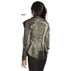 Warbird Laced Jacket - New Age, Spiritual Gifts, Yoga, Wicca, Gothic, Reiki, Celtic, Crystal, Tarot at Pyramid Collection