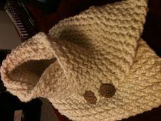 Fall scarf... Knitting loom