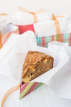 Apple Walnut Delight Cake