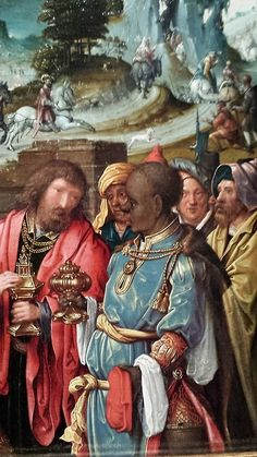 Workshop of Cornelis Engebrechtsz. Netherlandish, 1460/65-1527 The Adoration of the Magi, 1515/25 Oil on panel