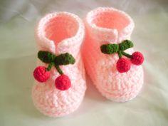 Newborn crochet baby booties (SUN FLOWER)