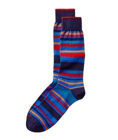 Duchamp   Striped Dress Socks   Socks   Harry Rosen