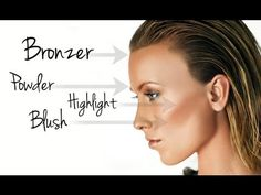 ▶ THE BASICS: POWDER, BRONZER, HIGHLIGHTER & BLUSH MAKEUP TUTORIAL - YouTube