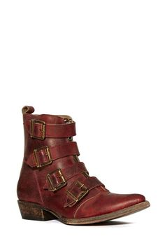 $265   I WANT THESE BOOTS!!  Freebird By Steven Skelter Boot - Flats