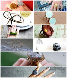 10 anelli fai da te da provare