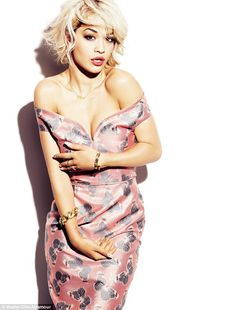Rita Ora for British Glamour #beauty #nails