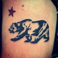 california bear tattoo , Google Search · Tatouages OursCalifornie