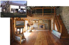 art studio in a barn - Google Search