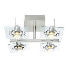 FUGA Takspotlight med 4 spotter - - IKEA