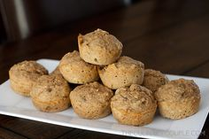 The Culinary Kid: Banana Muffins « The Culinary Couple- only six ingredients