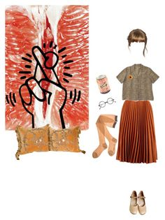 """""""Oh my darling clementine"""" by methlick ❤ liked on Polyvore featuring Melissa"""