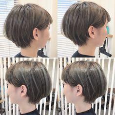 ショートスタイルはサイドバングがポイントです!カラーはオリージュです! Cool Short Hairstyles, Hairstyles Haircuts, Pretty Hairstyles, Short Hair Cuts For Women, Girl Short Hair, Short Hair Styles, Cut Her Hair, Love Hair, Hair Arrange