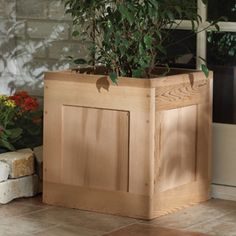 Nantucket Red Cedar Planter Box can be personalized...Live, Love, Laugh....