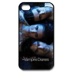 The Vampire Diaries Hard Case Cover Skin for Iphone 4 4s by Phone Case Shop