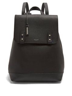 Saint Laurent Leather backpack 53f944d3615a4