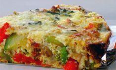 Quiche aux légumes sans pâte WW, recette d'une délicieuse quiche légère sans pâte, facile à faire et parfaite pour un dîner léger ou un pique-nique ensoleillé.