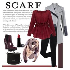 """""""winter scarf"""" by silencejune on Polyvore featuring Everest, Charles David and Lancaster"""