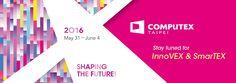 Computex Taipei Shaping the future! Taipei, Signage, Bar Chart, Events, Shapes, Technology, Future, Digital, Tech