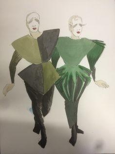 80s. Bohemian couple.  Anette Werenskiold Bohemian, Couples, Drawings, Fictional Characters, Art, Art Background, Boho, Kunst, Gcse Art