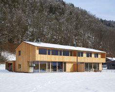 Architekten Hermann Kaufmann ZT GmbH - Multi Family Home - Fröwis Robert Mehrfamilienhaus Bezau