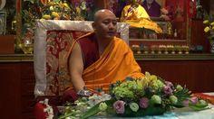 """H.E. Kyabje Zong Rinpoche   """"EMPTINESS""""  Date: 21/02/2017 (Day 1) Venue: Gaden Shartse Drop-hen Ling, Singapore"""