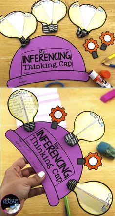 Reading Comprehension Crafts: Making Inferences Activities for Reading Response Teaching stude. Inference Activities, Reading Activities, Stem Activities, Teaching Reading, Guided Reading, Reading Nook, Activities For Students, Kindergarten Reading, Preschool Kindergarten