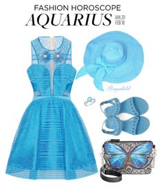"""""""Aquarius Style horoscope"""" by ragnh-mjos ❤ liked on Polyvore featuring Givenchy and Amanda Rose Collection"""