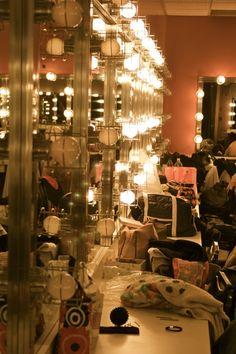 Corps de ballet dressing room