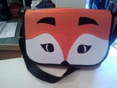 Messenger Bag (from Little Things to Sew) made into a fox
