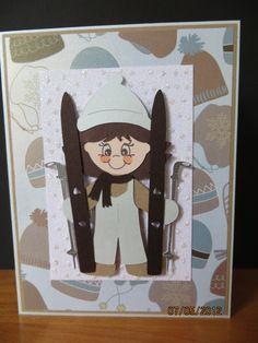 Cricut Everyday Paper Dolls - skiing