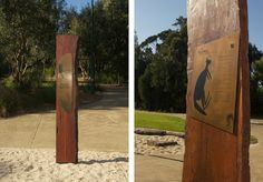 Park Signage – if you know where this is, or who did it, please comment (Outdoor Wood Signage) Zoo Signage, Wayfinding Signs, Signage Design, Environmental Graphics, Environmental Design, Outdoor Signage, Digital Signage, Exterior, Landscape Design
