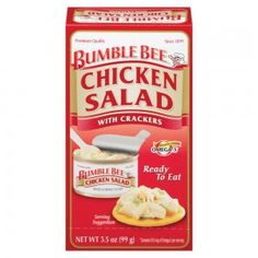 Bumble Bee® Chicken Salad with Crackers Kit - Savory chicken salad, mixed and ready to eat.