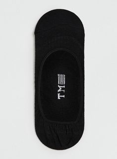 Black Invisible Liner Socks - Topman