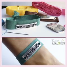 Hair Tie Bracelet, Bracelets, Elastic Ribbon, Hand Jewelry, Hair Ties, Headbands, Hair Accessories, Packaging, Diy Crafts